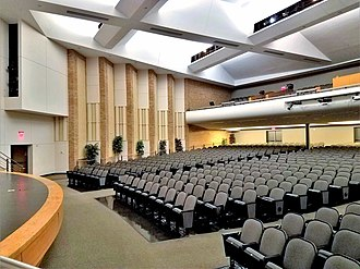 Irving High School - Auditorium