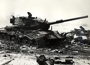 Israeli M60 wreckage.jpg
