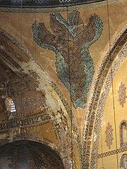 Ángel representado en un mosaico según la creencia Selyúcida.