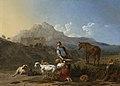 Italiaans landschap met geitenmelkster Rijksmuseum SK-A-192.jpeg