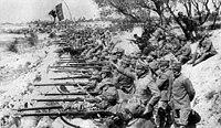 Włosi podczas bitwy nad Isonzo.