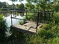 Ivacsi Lake, NE sluice, 2019 Veresegyház.jpg