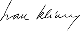 Ivan Klíma - Image: Ivan Klíma podpis