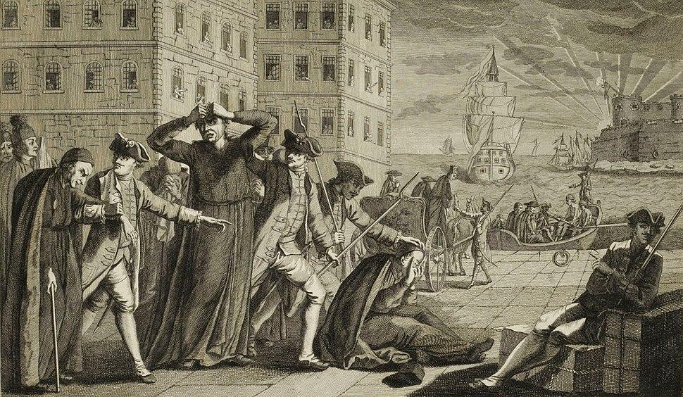 Jésuites expulsés d'Espagne, Musée de la Révolution française - Vizille