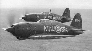 Mitsubishi J2M - Two J2Ms of the 381 Kōkūtai in British Malaya being tested and evaluated by Japanese naval aviators under close supervision of RAF officers from Seletar Airfield in December 1945.