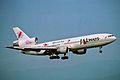 JA8547 1 DC-10-40I JALways Resocha KIX 11JUL01 (5619412833).jpg