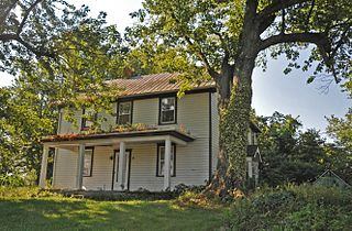 Jacob VanDoren House building in West Virginia, United States