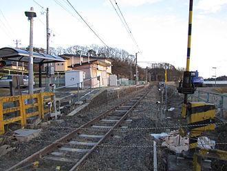 Rikuzen-Tomiyama Station - Image: JRE Rikuzentomiyama Sta 121219