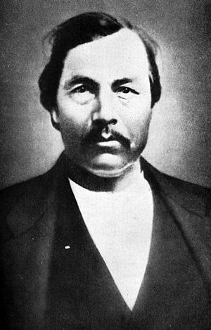 Choctaw in the American Civil War - Jackson McCurtain was Lieutenant Colonel of the 1st Choctaw Battalion from the Choctaw Nation.