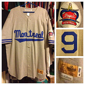Jarry Park Stadium - Jackie Robinson Montreal Royals jersey