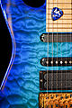 Jackson PC-1 Chlorine Blue guitar body detail.jpg
