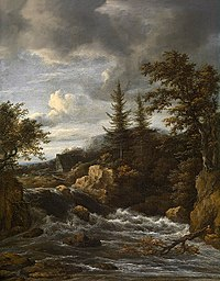 Jacob van Ruisdael - Waterfall in Norway.jpg