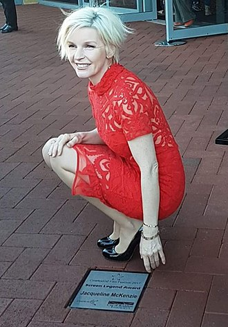 Jacqueline McKenzie - Screen Legend Award 2017, CinefestOz