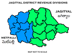 Jagityal District Revenue divisions.png