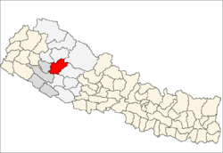 Location of Jajarkot