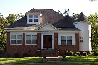 National Register of Historic Places listings in Washington County, Georgia - Image: James E. Johnson in Sandersville, GA