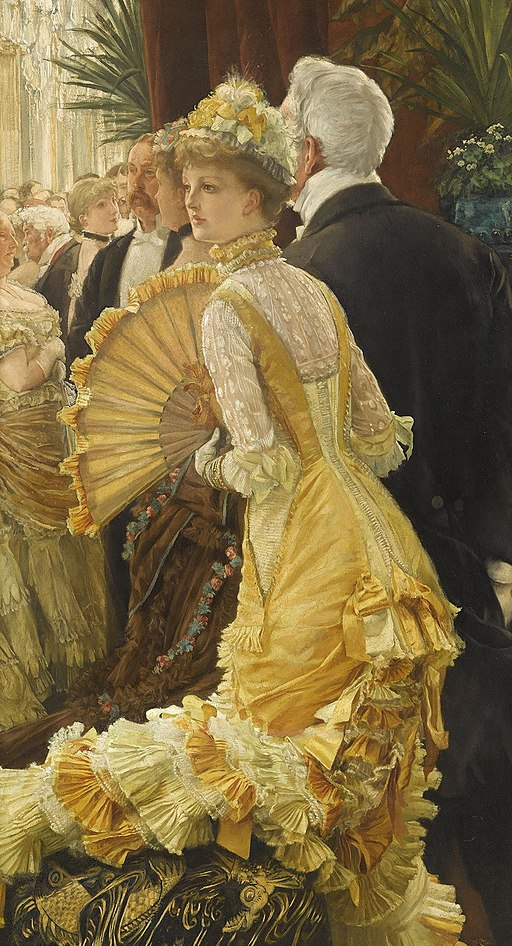 """The Ball"" by James Tissot"