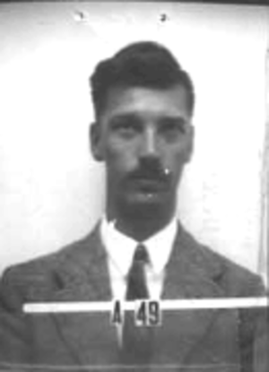 James L. Tuck - James Tuck's ID badge photo from Los Alamos