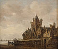 Jan van Goyen - Old Castle Gate in Nijmegen.jpg