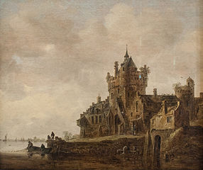Old Castle Gate in Nijmegen