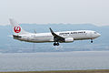 Japan Airlines, B737-800, JA315J (17871248283).jpg