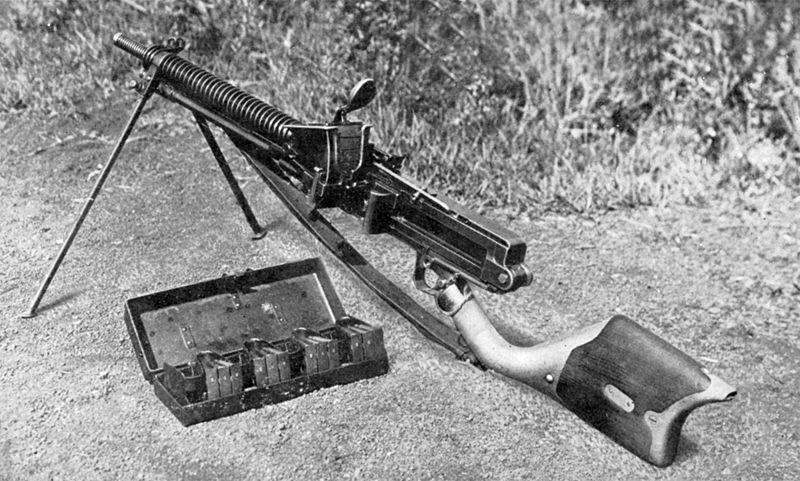 The Japanese Type 11 Light Machine Gun.