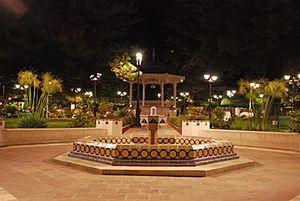"""Pénjamo - Jardín principal """"Ana María Gallaga"""", Pénjamo, Guanajuato"""