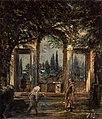 Jardines de la villa Medicis, el Pabellón de Ariadna, by Diego Velázquez.jpg