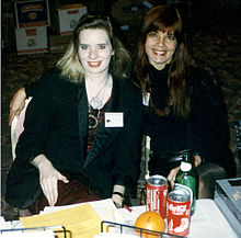 Jasmine Sailing and Lucy Taylor at World Horror Convention III (1993)