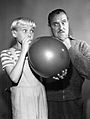 Jay North Gale Gordon Dennis the Menace 1962.JPG