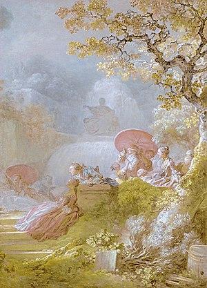 Jean-Honoré Fragonard - Jean-Honoré Fragonard, Blind Man's Bluff, 1775-1780