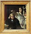 Jean-auguste-dominique ingres, il compositore luigi cherubini e la musa della poesia lirica, 1842, 01.jpg