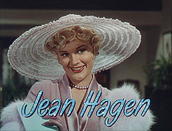 Jean Hagen in Singin in the Rain trailer.jpg
