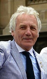 Jeff Banks British fashion designer