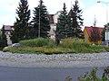 Jeleń w mieście - panoramio.jpg