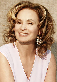 Jessica Lange was nominated five times, winning once in 1995 for her role in Blue Sky (1994). Jessica Lange (Cropped).JPG