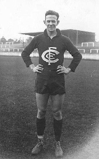 Jim Clark (Australian footballer) - Clark in 1944