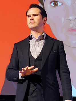 Jimmy Carr in april 2015.
