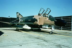Roger Locher - 555th TFS F-4D Phantom II 65-0784, the aircraft flown by Locher the day he was shot down.