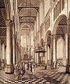 Johannes Coesermans - Interior of the Nieuwe Kerk, Delft - WGA05136.jpg