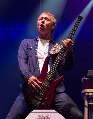 John Edwards (musician) - Performing with Status Quo at See-Rock Festival in Graz, Austria, in 2014