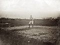 John Flannigan of the Greater New York Irish Athletic Association, throwing the 16 pound hammer during the 1904 Olympics.jpg