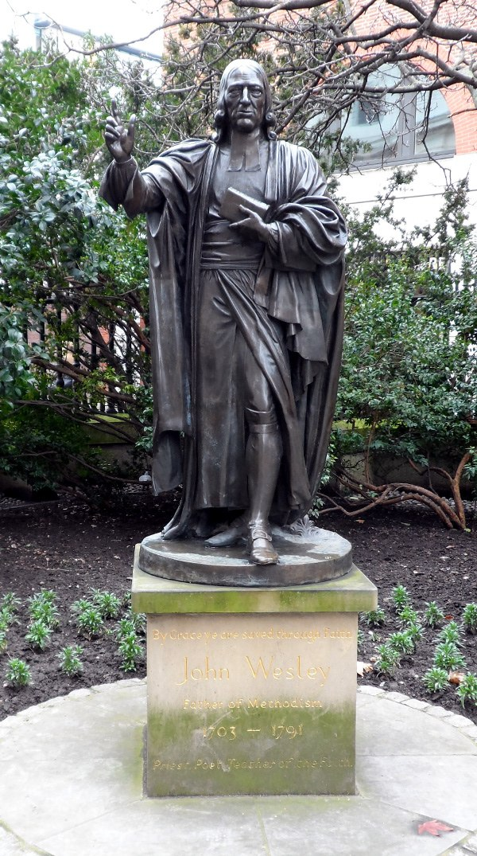 John Wesley at St Paul's