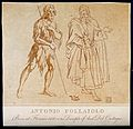 John the Baptist meets Jesus Christ. Aquatint with etching a Wellcome V0034697.jpg