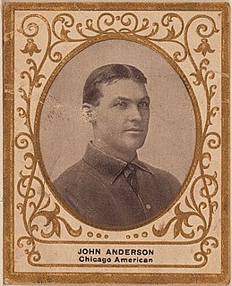 John Anderson (outfielder) Norwegian-born American baseball player
