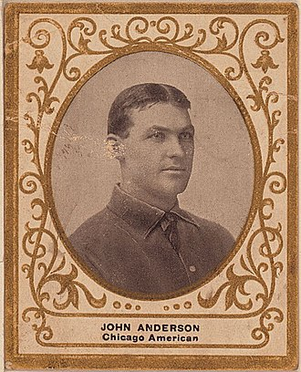 John Anderson (outfielder) - Image: Johnandersoncard