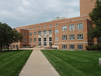 Olathe, Kansas - Johnson County Courthouse in Olathe