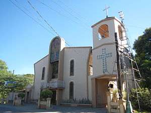 Bautista, Pangasinan - 1723 Parish Church of St. John the Baptist facade