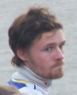 Jonas Davidsson Swedish speedway rider