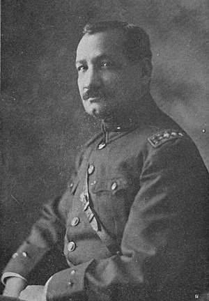 José María Orellana - José María Orellana's portrait in 1925